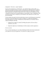 IO Psych Emp Selection - Legal Compliance Discussion notes.docx