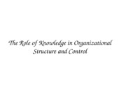 ACCY 302 RoleofKnowledge