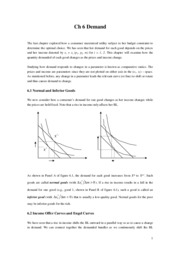 Intermediate Microeconomics Ch6 notes