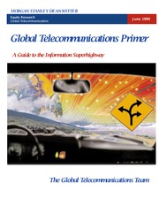Global Telecom Primer - Morgan Stanley (1999)