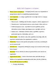 HR Chapter notes 1-4.docx