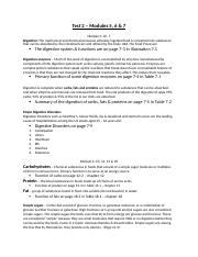 Nutrition Test 2 Study Guide