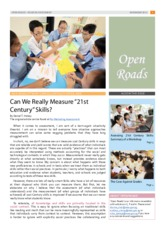 Open Roads - 2012 Issue 08 (Issues in Assessment)
