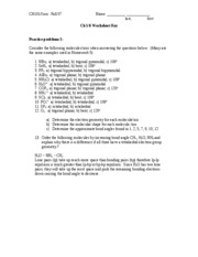 Ch5&6 Worksheet Key
