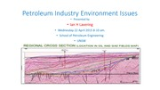 Petroleum Industry Environment Issues