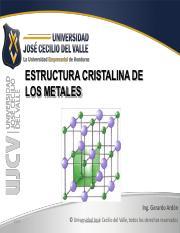 5 Estructura De Los Materiales Pdf Estructura De Los