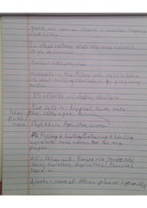 agricultural and climates notes