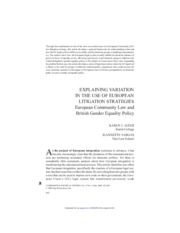 Alter-Vargas_ExplainingVariationInTheUseOfEuropeanLitigationStrategies