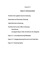 Courts Chapter 15 Outline