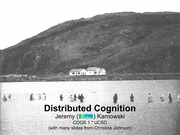 Lec4-Distributed Cognition