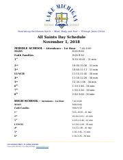 Copy of Faith Family/Mass Day Schedule 2018 MSHS.docx