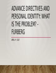 Advance directives and personal identity Furberg - April 4.pptx