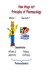 L9 - Pharmacokinetics