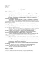 EXAM #4 Nutrition study guide - Course Hero