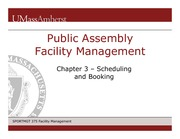 Ch 3 Scheduling and Booking Slides