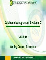 ITESPEC1 Module 6 - Writing Control Structures.pdf