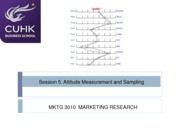 Session 5- Attitude measurement and sampling(2)