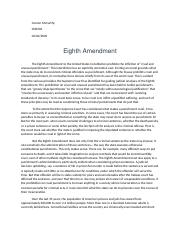 Eight Amendment.docx