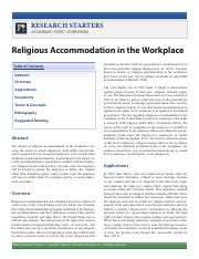 Religious Accommodation in the Workplace.pdf