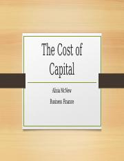 The Cost of capital.pptx