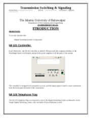Lab No.0 Introduction