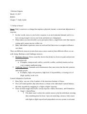 BM251 Chapter 7 Study Guide .docx
