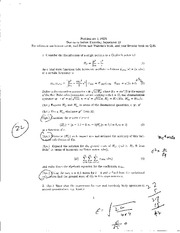 Homework A Solutions on Quantum Many-Body Theory