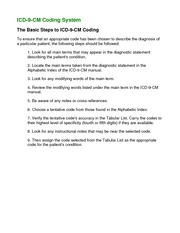 ICD9-basic steps1-coding systerm