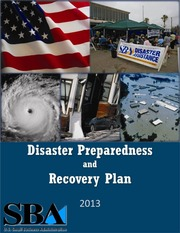 Disaster Recovery Plan 2013