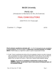 2006 Final Solutions