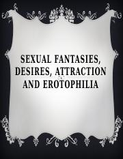Fantasies and desire