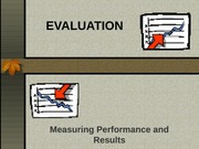 Measuring Performance and Results Powerpoint