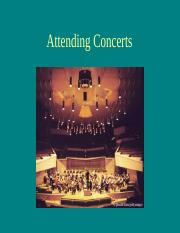 Attending concerts.ppt