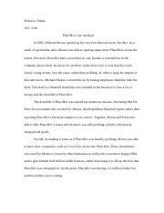 phar mor case study