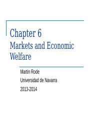 6) Markets and Economic Welfare.ppt