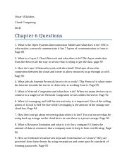 10 questions chapter 6