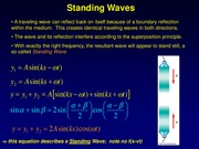 9) Standing Waves