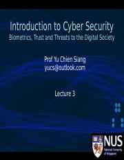Lecture 3 - Biometrics_ Trust and Threats to the Digital Society [379440]