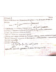 R Groups, Isomers, Prochiral Center for Exam 1