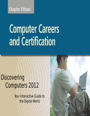 Ch 15 - Computer Careers and Certification (GN)