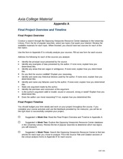 com 155 appendix a final project overview timeline Executive summary section 3(b)(8) -training identification and timeline appendix a-integrated master schedule.