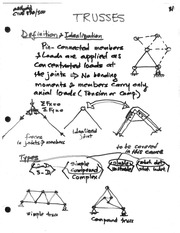 Ch 3 Trusses