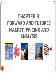 CHAPTER_3_Forward and Futures Market: Pricing and Analysis