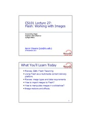 CS101.Lect27.Flash.Images.ppt