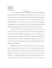 Creativity Official Essay