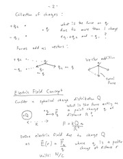 ENGR 280 Electric Field Concept Notes