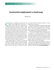 Construction Employment A Visual Essay