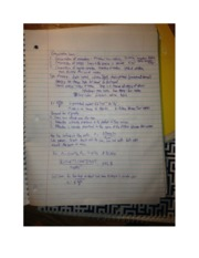 PHYS 1040 conservation laws notes
