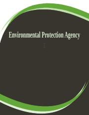 Week 5 Environmental Protection Agency.pptx
