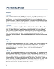 Positioning Paper